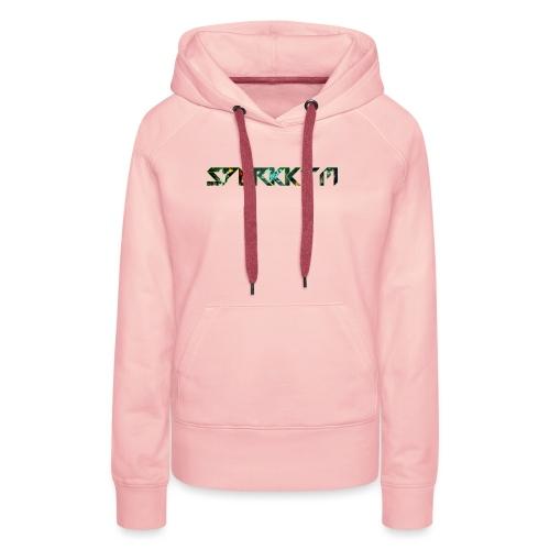 spark brustlogo schriftzug png - Frauen Premium Hoodie