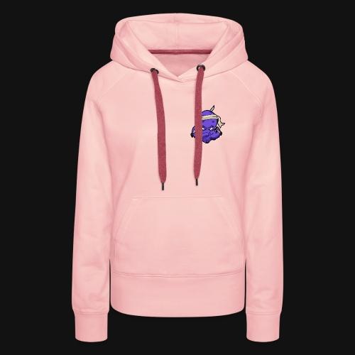 LOGO ZEPHYR SIMPLE COLOR - Sweat-shirt à capuche Premium pour femmes