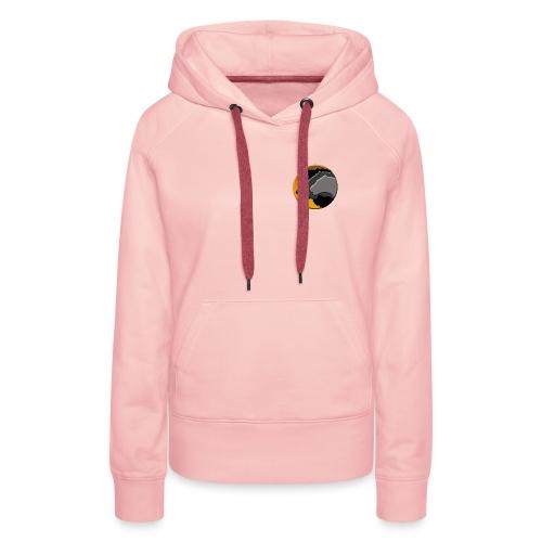 Logo LES FELINS original - Sweat-shirt à capuche Premium pour femmes