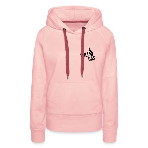 vollgas_logo_Typo - Frauen Premium Hoodie