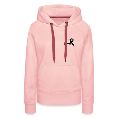 LiamRusso Logo Zwart - Vrouwen Premium hoodie