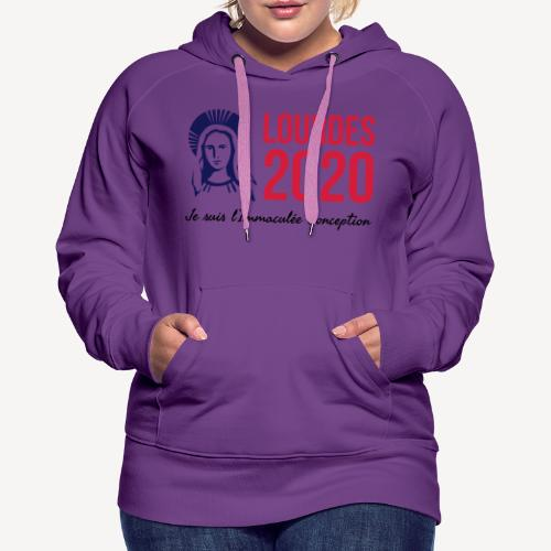 LOURDES 2020 - Women's Premium Hoodie