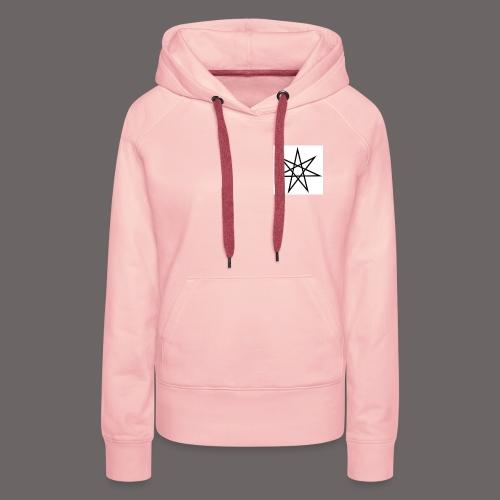 etoile - Sweat-shirt à capuche Premium pour femmes