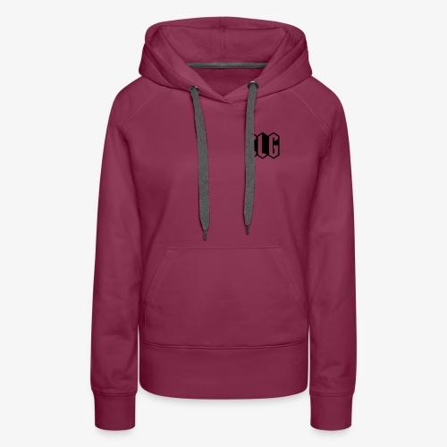 CLG DESIGN black - Sweat-shirt à capuche Premium pour femmes