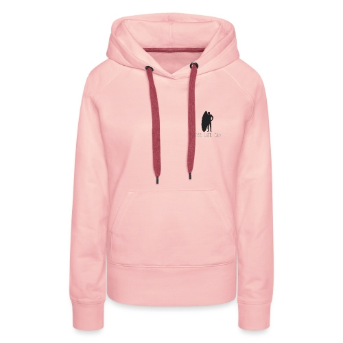 live Recovered2 png - Sweat-shirt à capuche Premium pour femmes