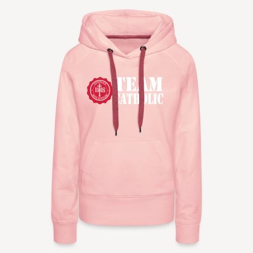 TEAM CATHOLIC - Women's Premium Hoodie