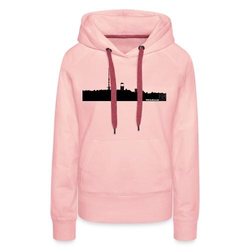 Skyline Inselsberg schwarz - Frauen Premium Hoodie