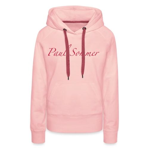 Paul Sommer Marineblau - Frauen Premium Hoodie