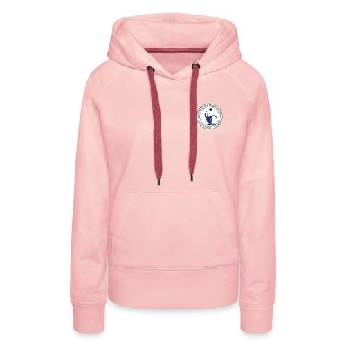 logo circulaire - Sweat-shirt à capuche Premium pour femmes