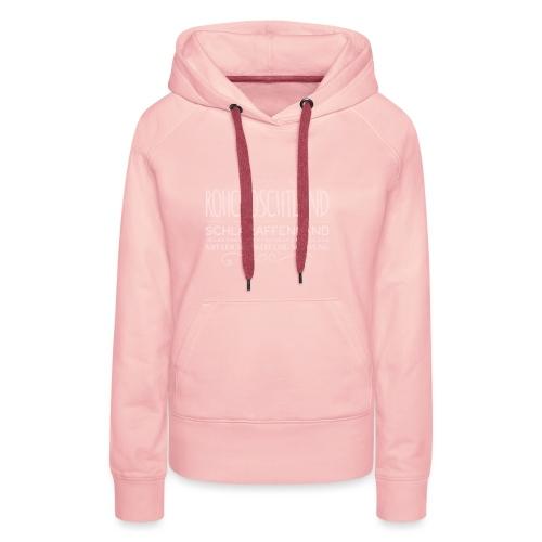 Daniela Elia Design - Rohchoschtland - pink - Frauen Premium Hoodie