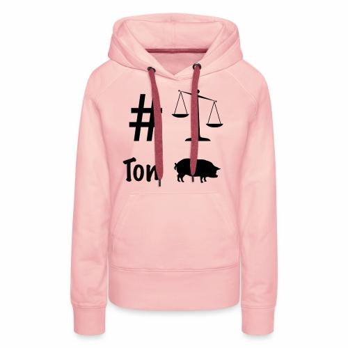 #BTP by WonderOfWoman - Sweat-shirt à capuche Premium pour femmes