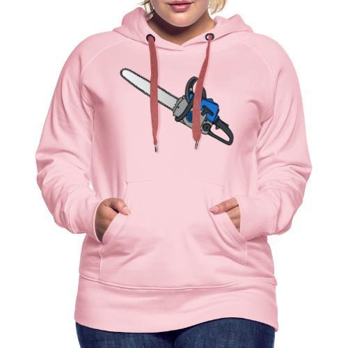Kettensäge - Frauen Premium Hoodie