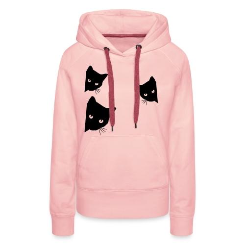 Vorschau: cats - Frauen Premium Hoodie