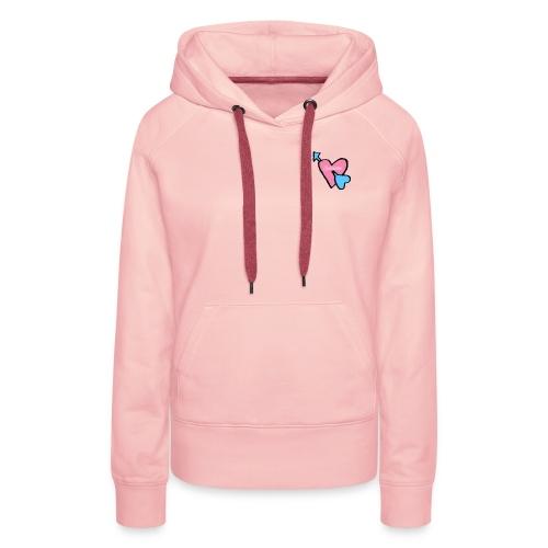 Spicious love logo - Vrouwen Premium hoodie