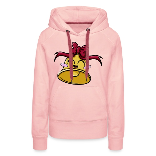 Cloche Kawaii - Sweat-shirt à capuche Premium pour femmes