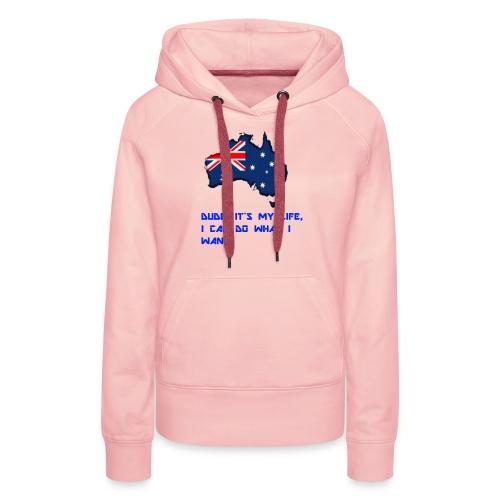 AUSTRALIAN MERCH - Women's Premium Hoodie