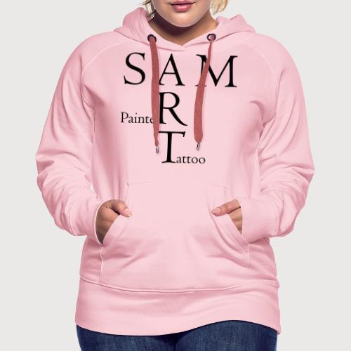 SAM4a - Sweat-shirt à capuche Premium pour femmes