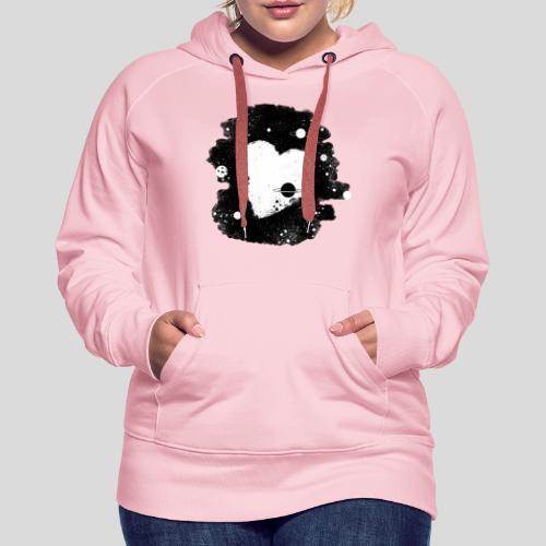 Herz universum - Frauen Premium Hoodie