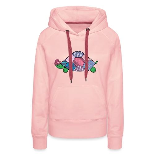 purple tortoise - Women's Premium Hoodie