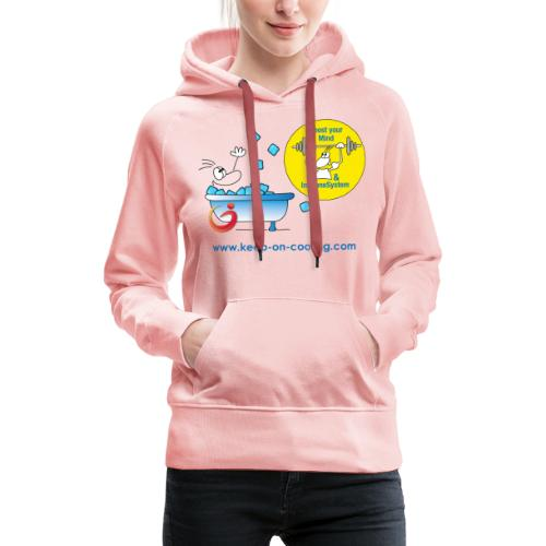 cool and boost - Frauen Premium Hoodie