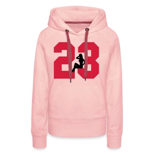 Sexy Dreiungzwanzig / 23 - Frauen Premium Hoodie