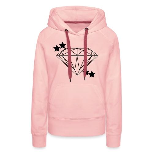 Diamant - Frauen Premium Hoodie