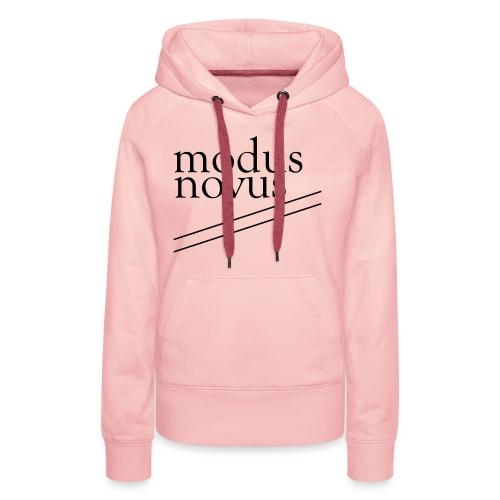 modus novus - Frauen Premium Hoodie