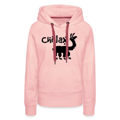 chillax - Frauen Premium Hoodie