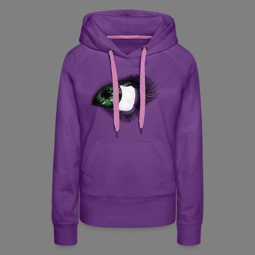 Auge 1 - Frauen Premium Hoodie