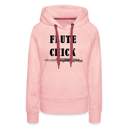 Flute Chick - Premium hettegenser for kvinner