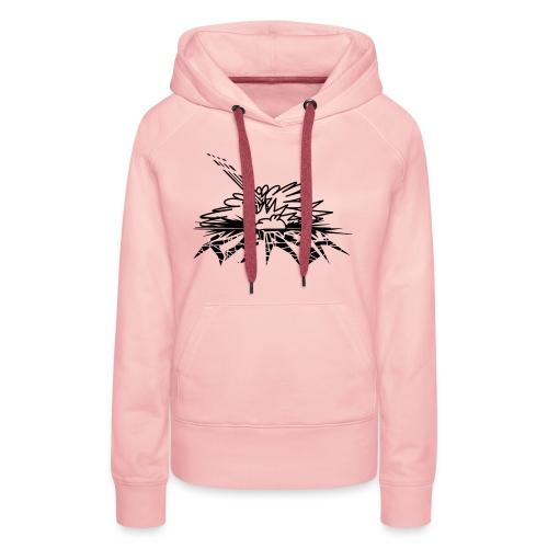 krash - Sweat-shirt à capuche Premium pour femmes