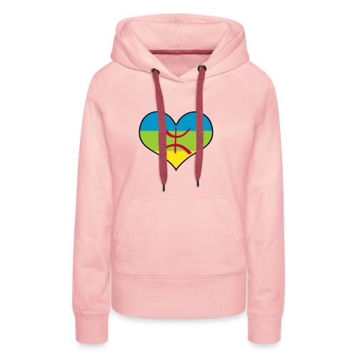 I LOVE AMAZIGH - Sweat-shirt à capuche Premium pour femmes