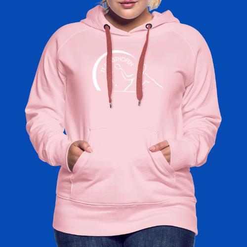 TTE Logo Weiss - Frauen Premium Hoodie