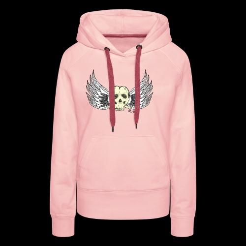 Skull 'n' Wings Color - Frauen Premium Hoodie