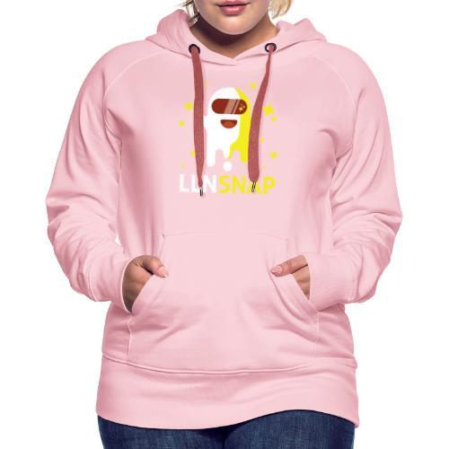 Fantôme astronaute (LLNsnap) - Sweat-shirt à capuche Premium pour femmes