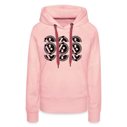 Split logo - Women's Premium Hoodie