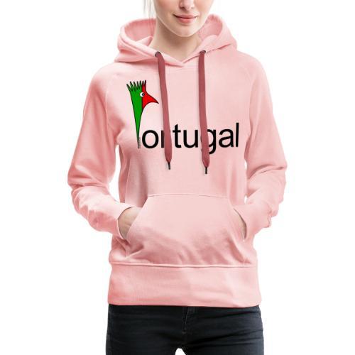Galoloco - Portugal - Sweat-shirt à capuche Premium pour femmes