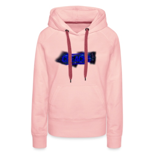 New Cheacks Banner/Logo Men Shirt - Vrouwen Premium hoodie