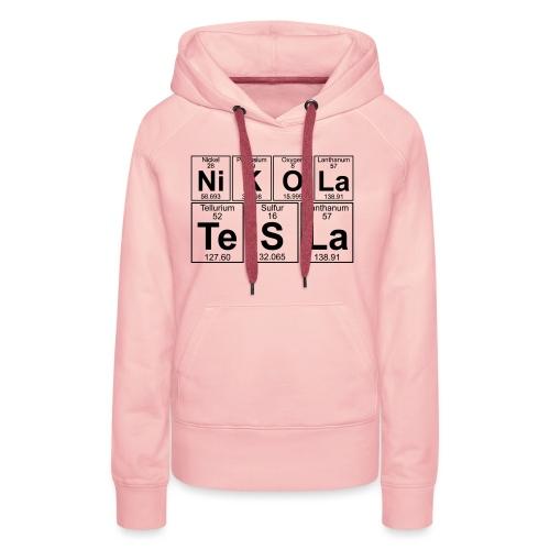 Ni-K-O-La Te-S-La (nikola_tesla) - Full - Women's Premium Hoodie