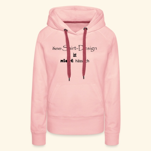 test_shop_design - Frauen Premium Hoodie