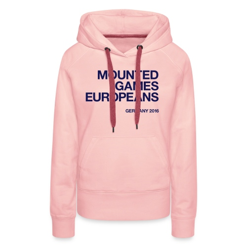 Mounted Games Europeans Hoodie - Frauen Premium Hoodie