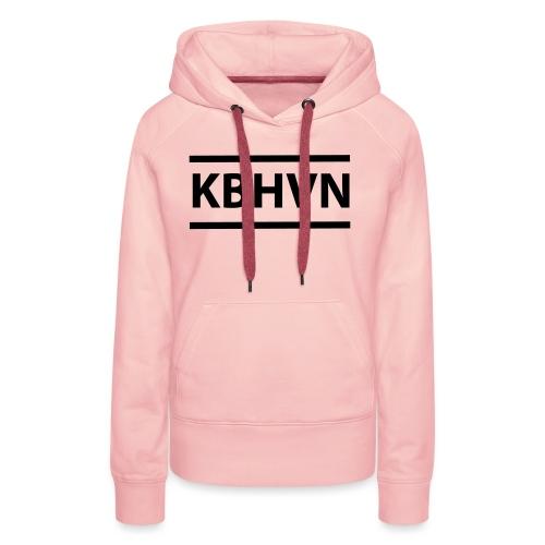 KBHVN 06 01 - Dame Premium hættetrøje