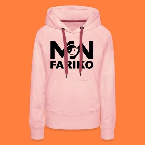 fariko mw black - Vrouwen Premium hoodie