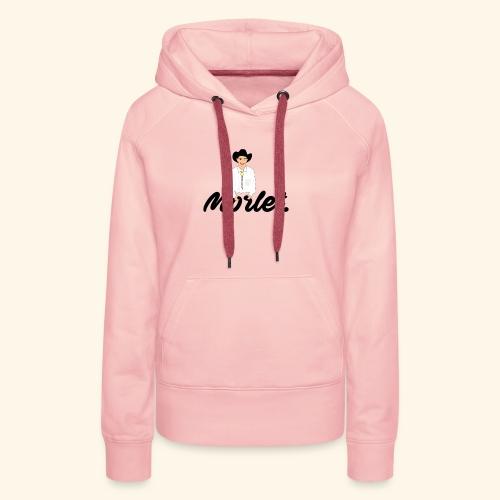 Garry x Moret - Sweat-shirt à capuche Premium pour femmes