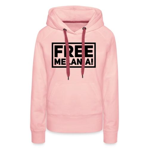 free melania! - Frauen Premium Hoodie