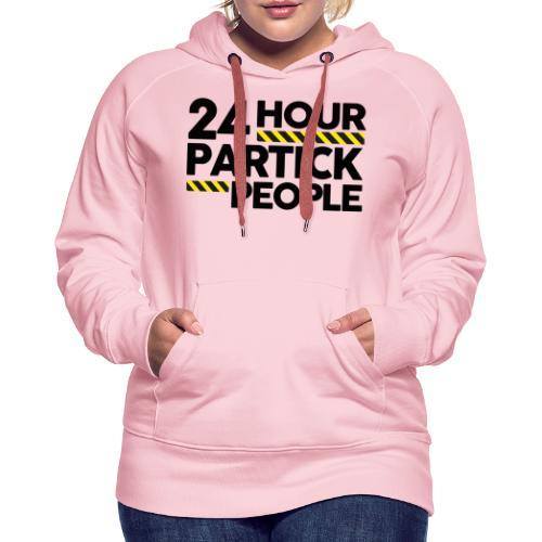 24 Hour Partick People - Women's Premium Hoodie