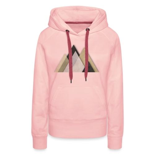 Berge abstrakt - Frauen Premium Hoodie