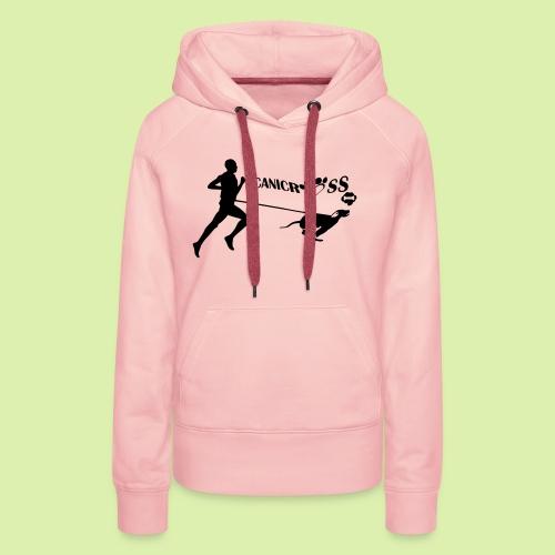 CANICROSS - Sweat-shirt à capuche Premium pour femmes