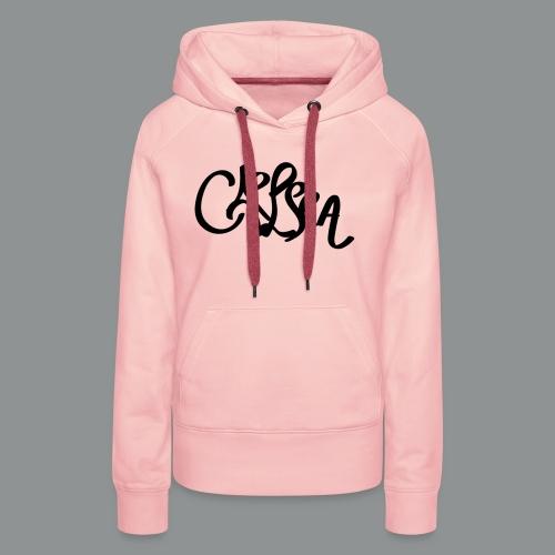 Kinder/ Tiener Shirt Unisex (rug) - Vrouwen Premium hoodie