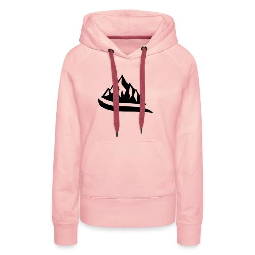 Alive - Sweat-shirt à capuche Premium pour femmes